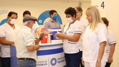Photo of Casi 2000 jubilados fueron vacunados en Tucumán