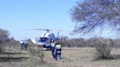 Photo of Intensa búsqueda con helicóptero y drones de un hombre desaparecido