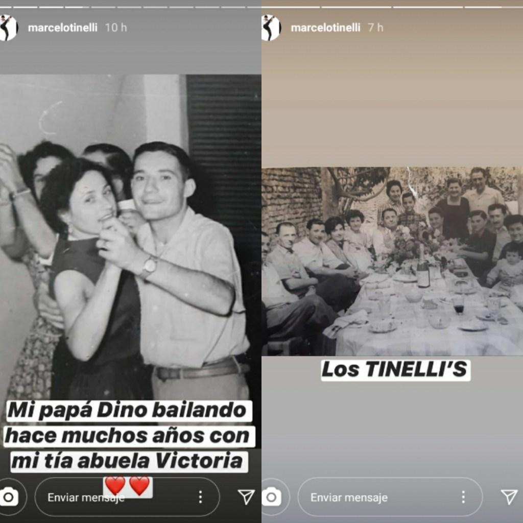 La familia de Marcelo Tinelli