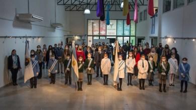 Photo of Promesa Virtual a la Bandera: alumnos de Yerba Buena participaron del acto