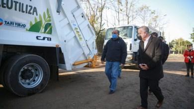 Photo of En Tafí Viejo inauguran dos nuevos Puntos Verdes para reciclaje de residuos