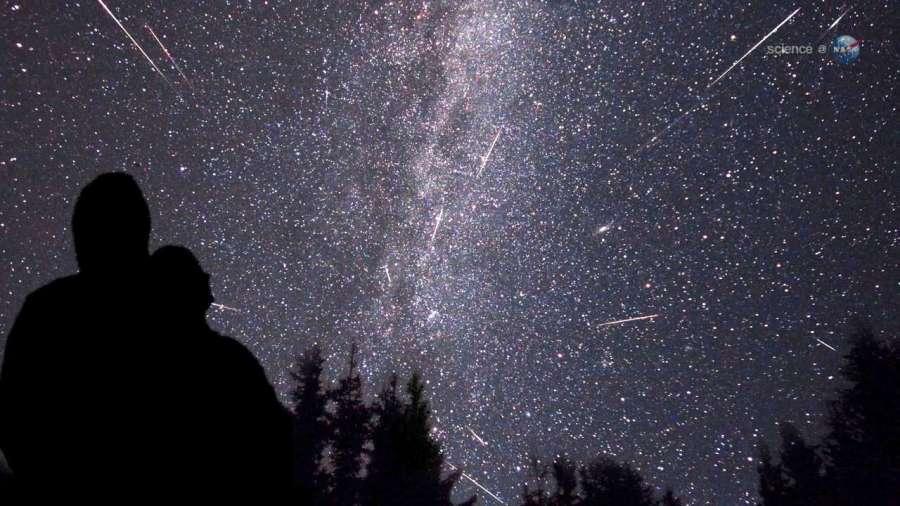 SAPR - Imagen de Las Perseidas (cortesía de Science at NASA)