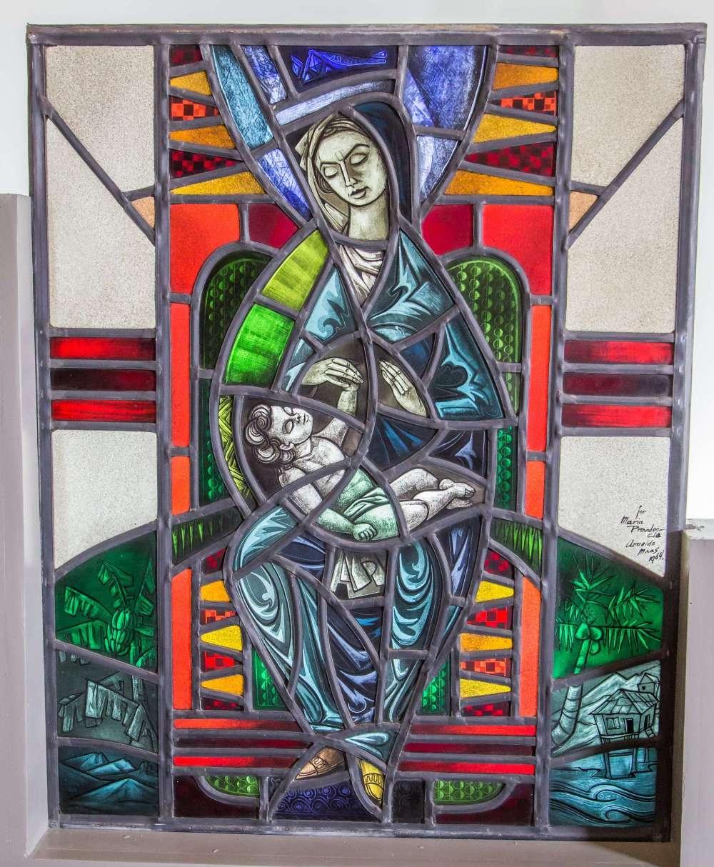 Vitral de Fray Marcolina dedicado a María Providencia Ferrer Clooney