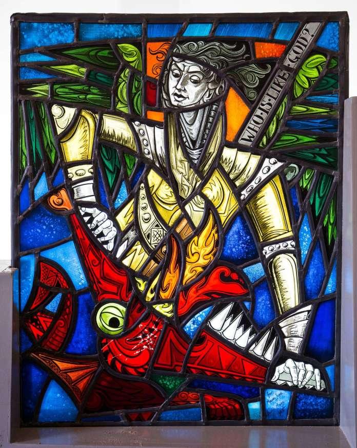 Vitral de Fray Marcolina dedicado a Miguel José Ferrer