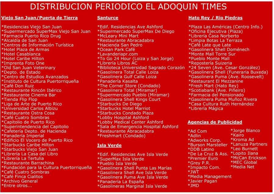 Distribucion El Adoquin Times Junio 2017