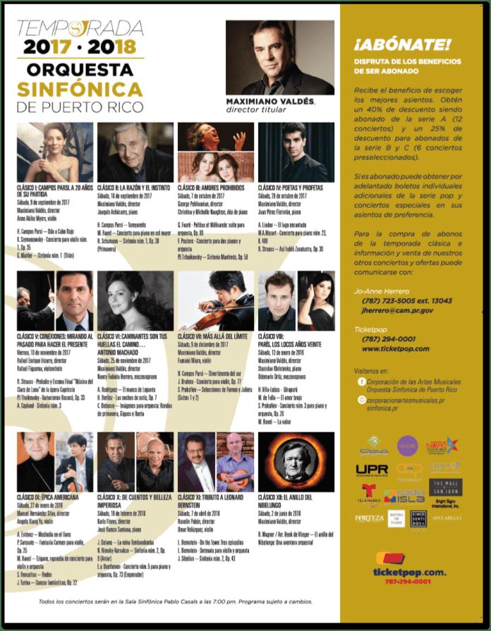 Nueva Temporada Sinfonica