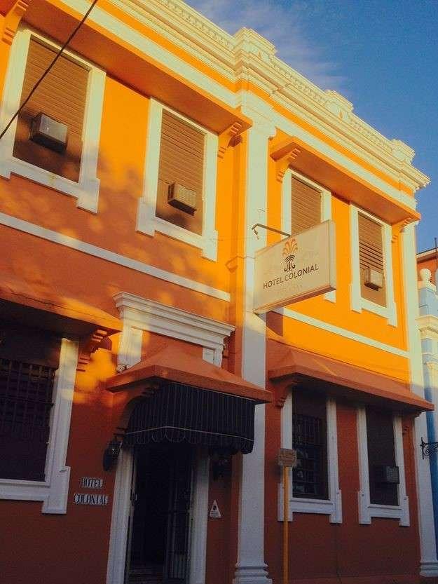 colonial edificio
