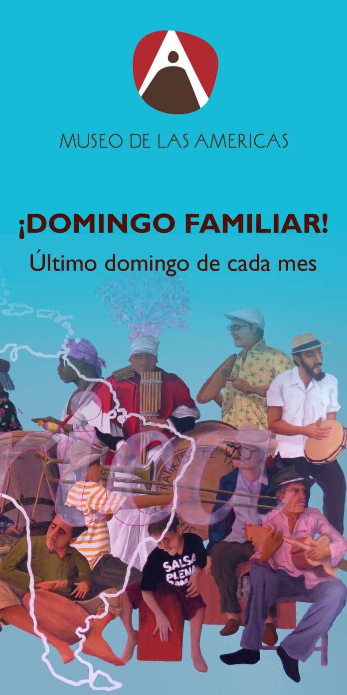 banner web pequeño Domingo Familiar-01 Museo de las Americas