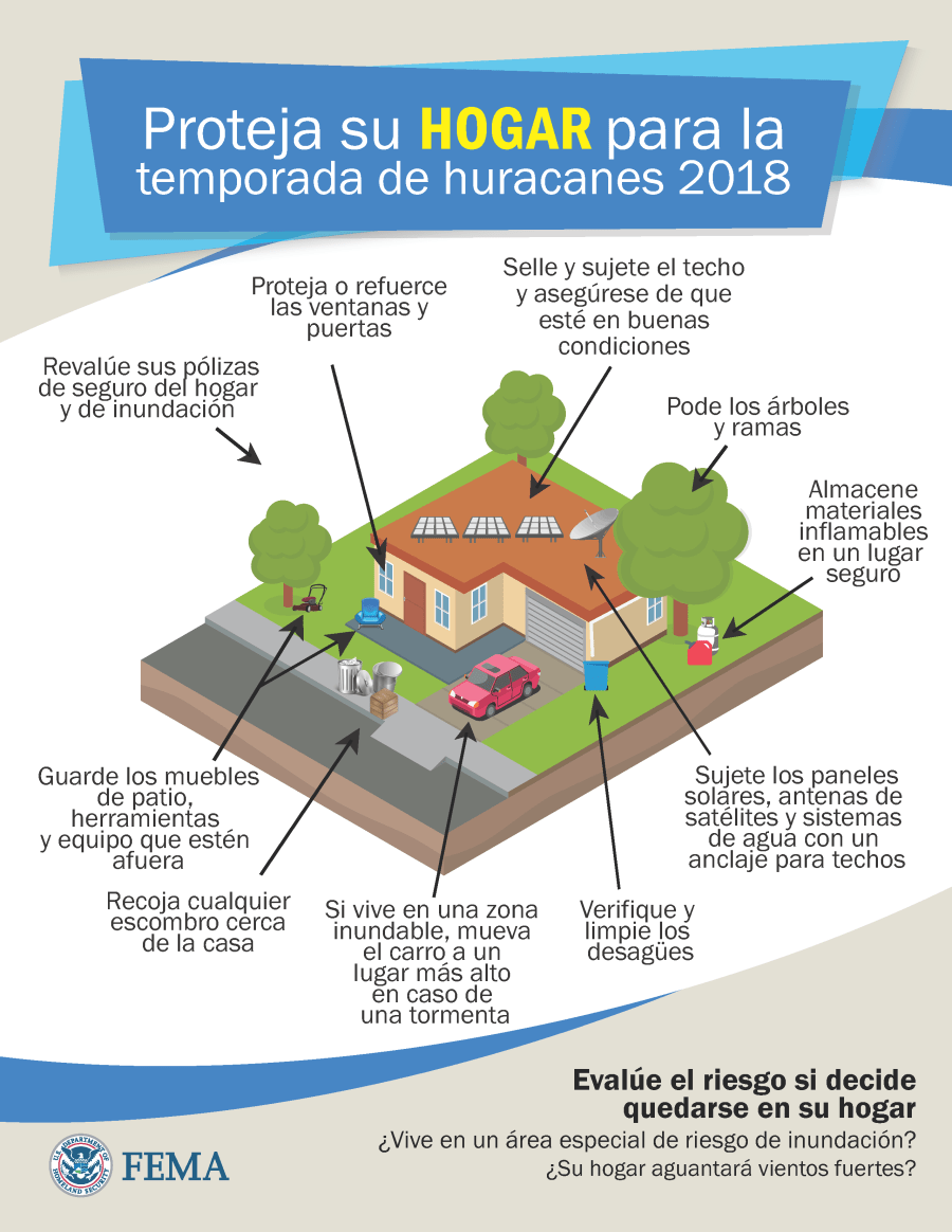 DR-4339-PR ES GR 030 Secure your Home for the 2018 Hurricane Season