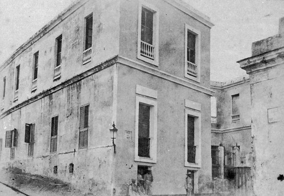 Historia del Viejo San Juan: La ermita de la calle de la Cruz de Santa Bárbara