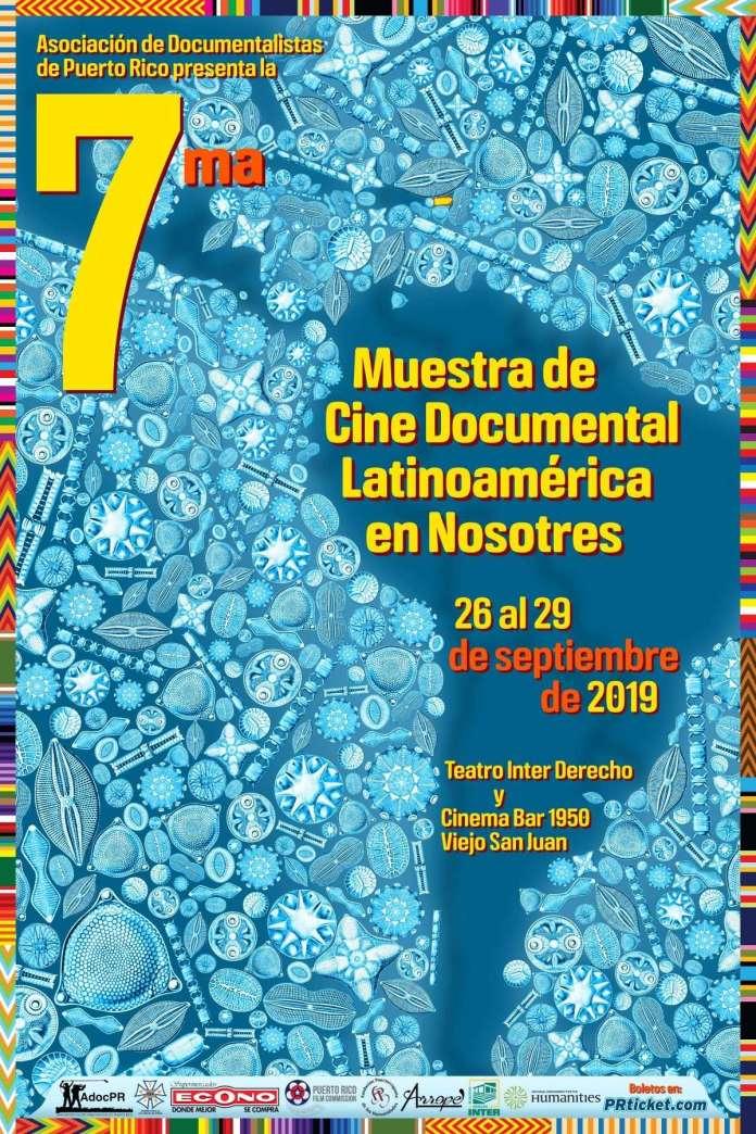 7ma Muestra Latinoamérica en Nosotres afiche pequeño