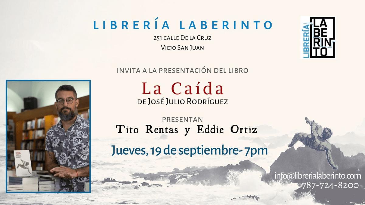 Presentacion Libro La Caida Libreria Laberinto GO Digital Septiembre 2019