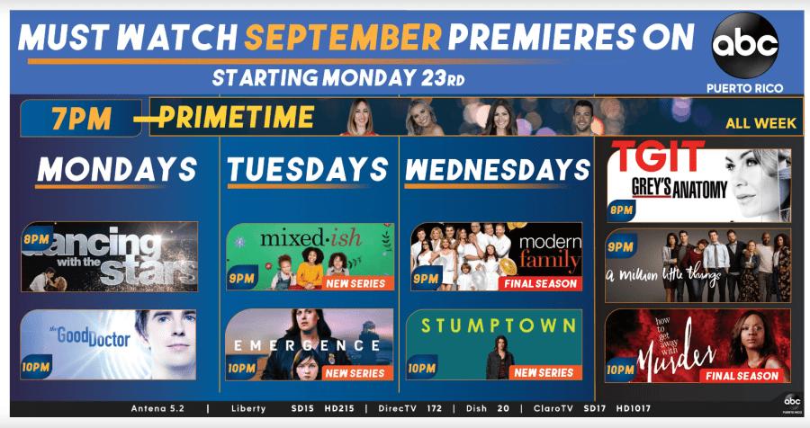 Programacion ABC Septiembre 2019