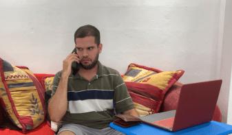 Falsos Amigos. Luis Ponce interpreta a Nolo.
