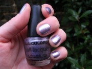 la colors 'metallic purple' nail