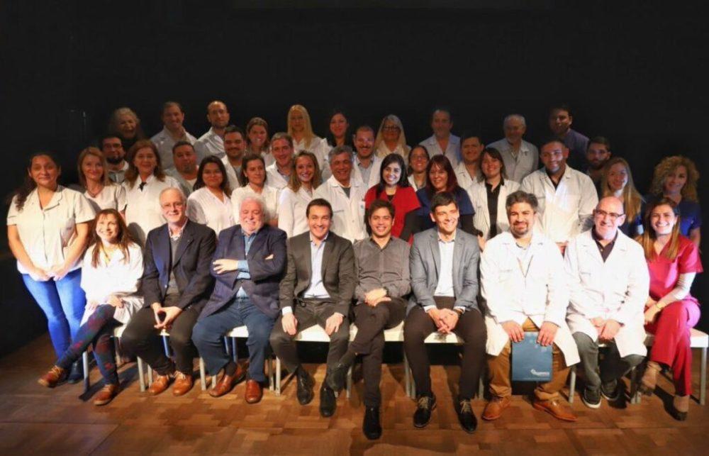 Axel Kicillof en Florencio Varela en el Cabildo de la Salud