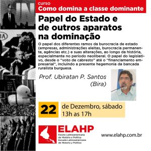 Read more about the article Papel do Estado e de outros aparatos na dominação.