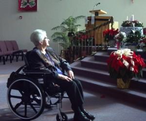 mom wheelchair