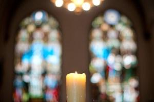 candle church