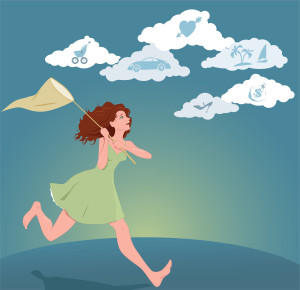 running woman dreams