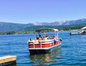 McCall family boating