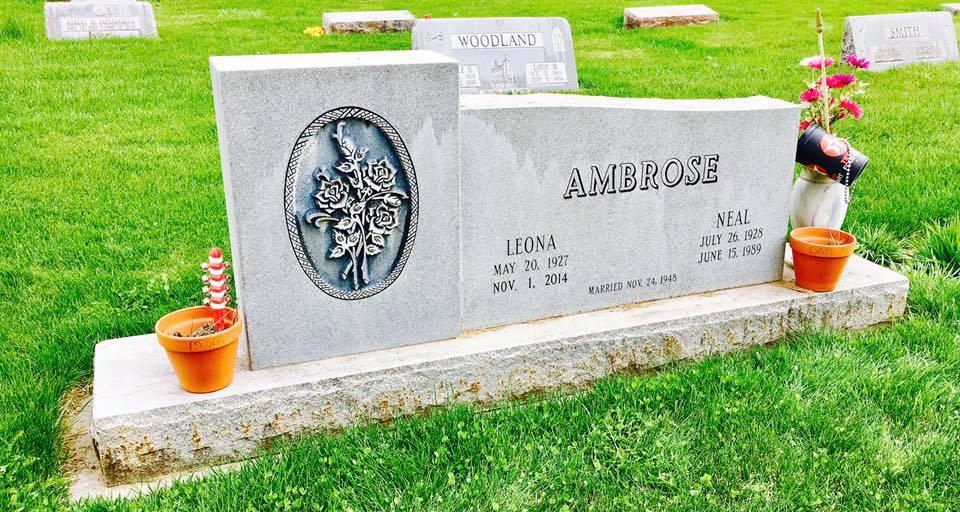 headstone ambrose