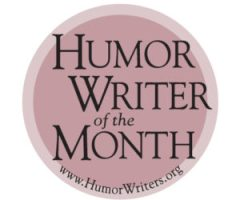 Humor Writer of the Month