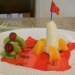 Land on Mars: Fun Futuristic Fruit Salad for Kids