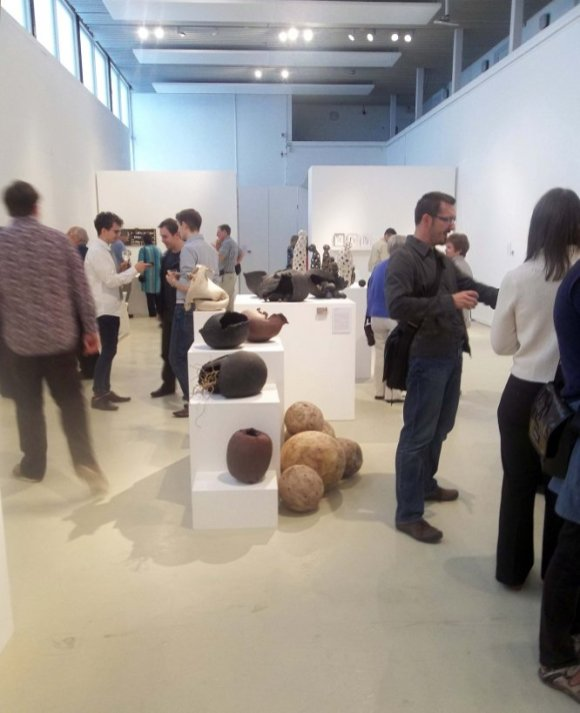 MAde 2012 private view in the James Hockey Gallery, UCA Farnham