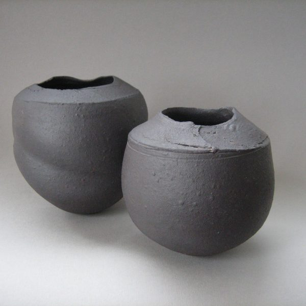 Elaine Bolt, 'Dark Metal' vessel