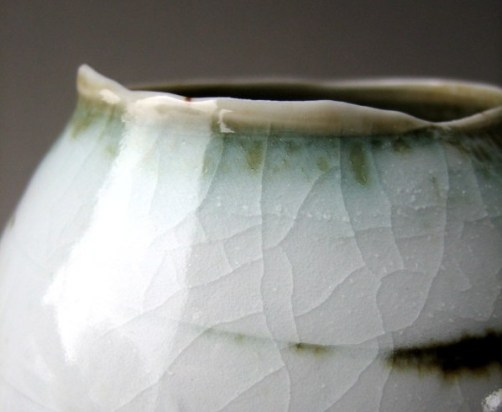 Elaine Bolt, 'Dwelling' vessel - detail