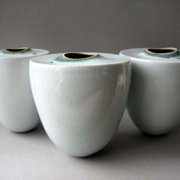 Elaine Bolt 'Within' vessels - group of three