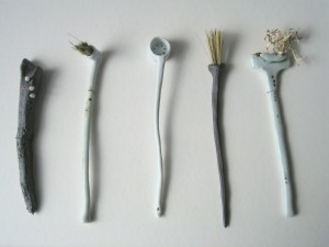 Elaine Bolt ceramics 'Curious Utensils'