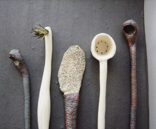 Playful Utensils by Elaine Bolt