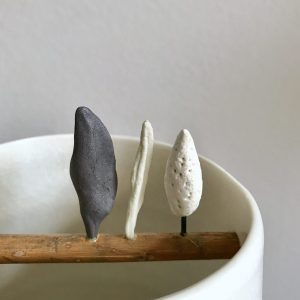 Chalk Trees vessel by Elaine Bolt