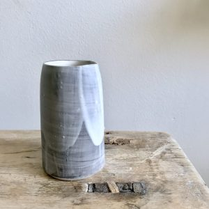 Slip Lap vessel by Elaine Bolt