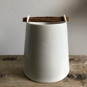 Willow Chalk Vessel by Elaine Bolt