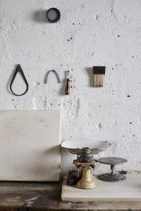 Elaine Bolt's Ceramic Studio (photography by Alun Callender)