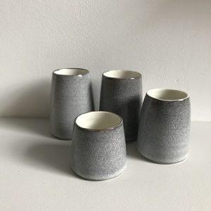 Elaine Bolt Ceramics - Stone Grey Vessels