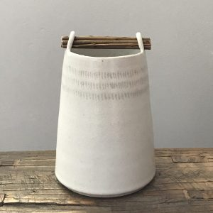 Elaine Bolt - Willow Stone Weft Vessel 2