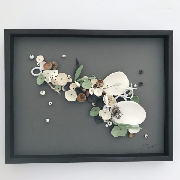 Elaine Bolt Framed Piece - Chalk Path