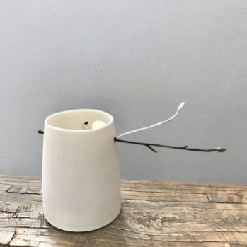 Woodland Chalk Vessel by Elaine Bolt