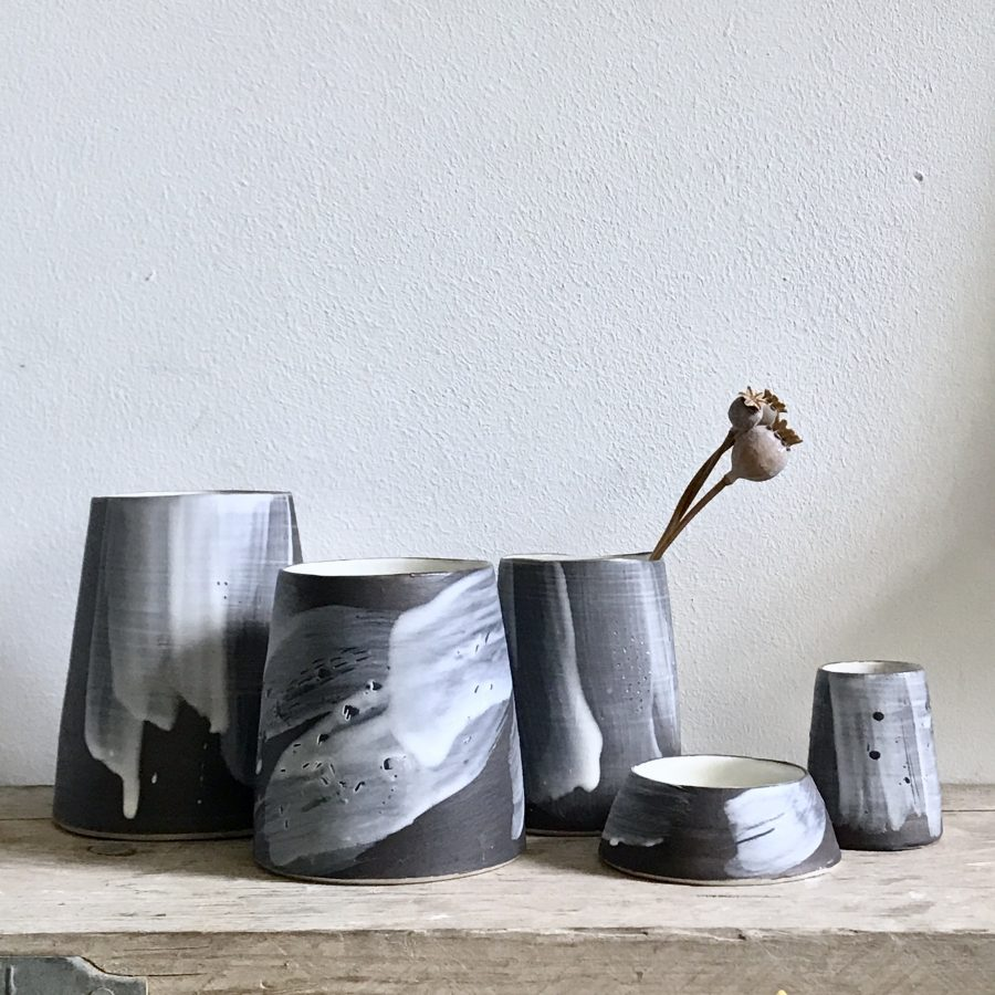 Slip vessels by Elaine Bolt