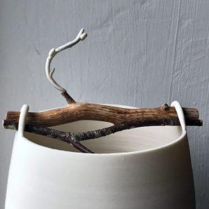 Elaine Bolt Woodland Chalk vessel Twig 1 (1)