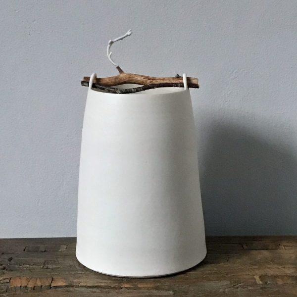 Elaine Bolt Woodland Chalk vessel Twig 1