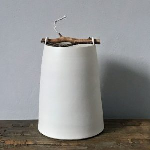 Elaine Bolt Woodland Chalk vessel Twig 1