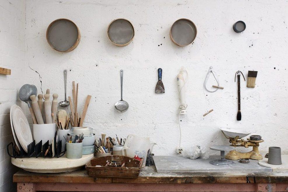 Elaine Bolt's Studio (photography by Thom Atkinson)