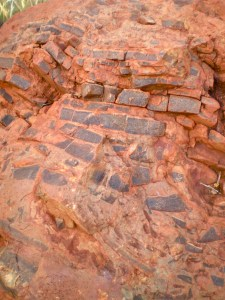 Banded Iron Formation resembling a mosaic