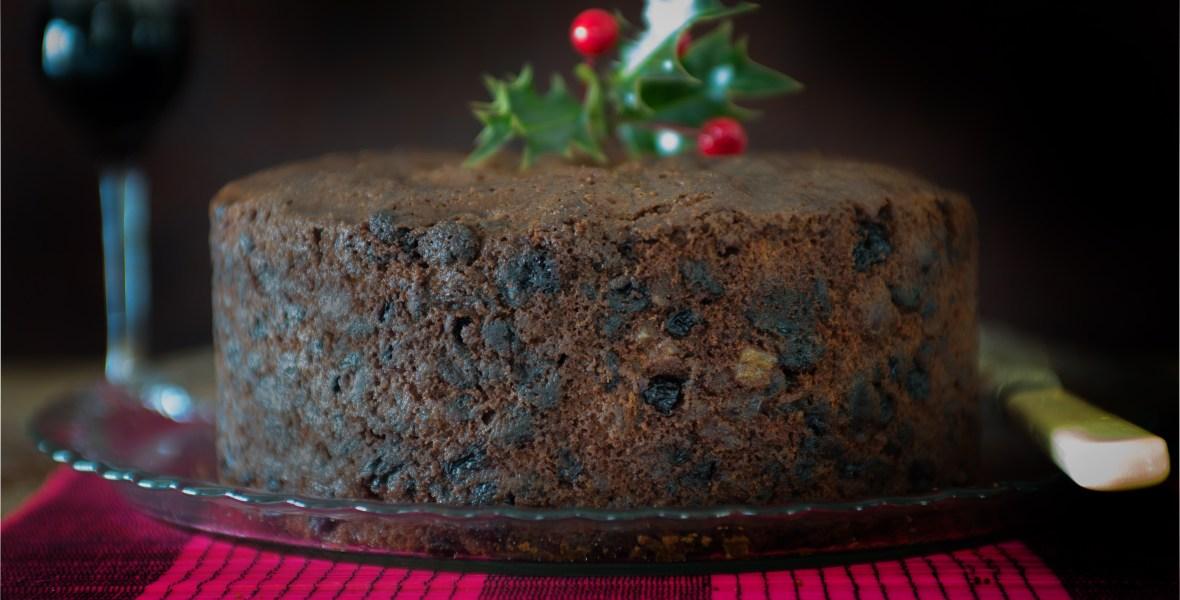 Proper British Christmas Cake