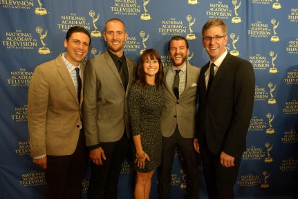 The HOLLOW team at the Emmy Awards